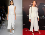 Alicia Vikander In Victoria Beckham - 'The Danish Girl' Washington Premiere