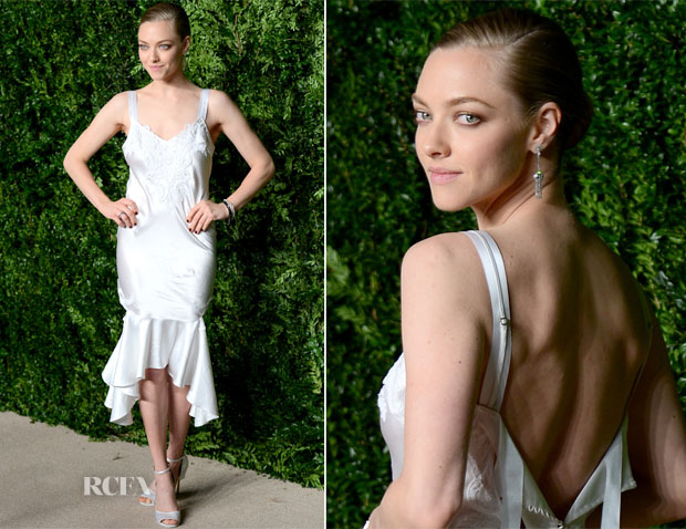 Amanda Seyfried In Givenchy - 2015 CFDA Vogue Fashion Fund Awards
