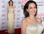 Angelina Jolie In Atelier Versace - 'By the Sea' AFI FEST 2015 Opening Night Premiere
