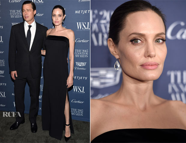Angelina Jolie In Tom Ford - WSJ Magazine 2015 Innovator Awards