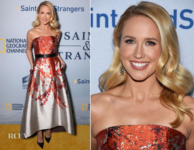 Anna Camp In Sachi & Babi Noir - 'Saints And Strangers' LA Premiere