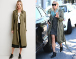 Busy Philipps' Forever 21 Open-Front Trench Coat
