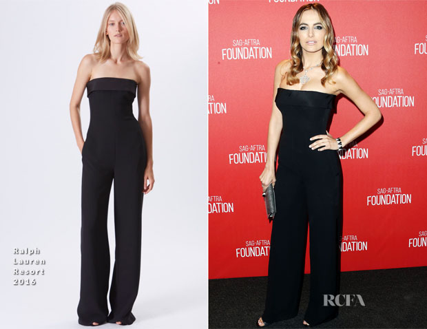 Camilla Belle In Ralph Lauren - Screen Actors Guild Foundation 30th Anniversary Celebration