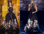 Celine Dion In Elie Saab Couture - 2015 American Music Awards