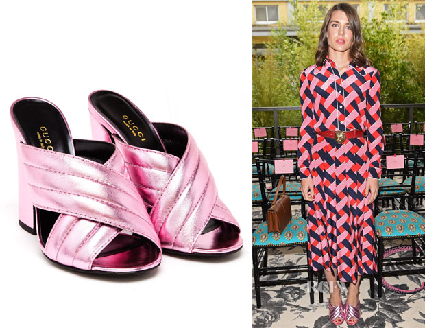 Charlotte Casiraghi's Gucci Sylvia Sandals