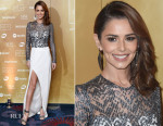 Cheryl Fernandez-Versini In Galvan - Music Industry Trust Awards