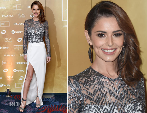 Cheryl Fernandez-Versini In Galvan F15 - Music Industry Trust Awards