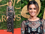 Cheryl Fernandez Versini In Topshop  - 2015 British Fashion Awards