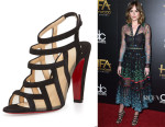 Dakota Johnson's Christian Louboutin Nicobar Caged Sandals