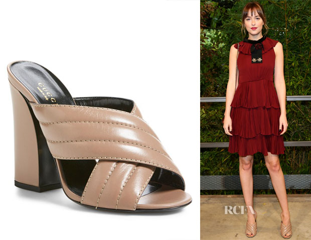 Dakota Johnson's Gucci Sylvia Sandals