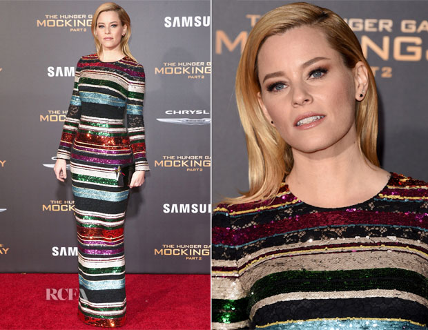 Elizabeth Banks In Dolce & Gabbana - 'The Hunger Games Mockingjay – Part 2' LA Premiere