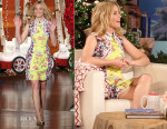 Elizabeth Banks In Mary Katrantzou -  The Ellen Degeneres Show