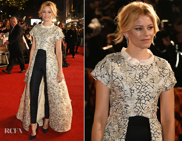 Elizabeth Banks In Razan Alazzouni - 'The Hunger Games Mockingjay – Part 2' London Premiere