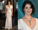 Gemma Arterton In Victoria Beckham - Tiffany & Co Christmas Window Unveiling