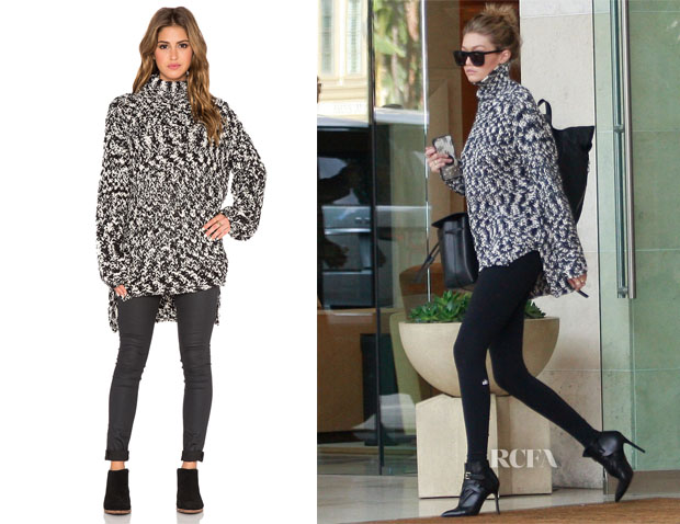 Gigi Hadid's Faithful The Brand Rebel Sweater