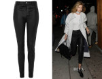 Gigi Hadid's Topshop Premium Stretch Leather Trousers