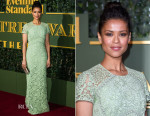 Gugu Mbatha-Raw In Burberry - The London Evening Standard Theatre Awards