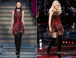 Gwen Stefani In Julien Macdonald - The Voice Live Play Off