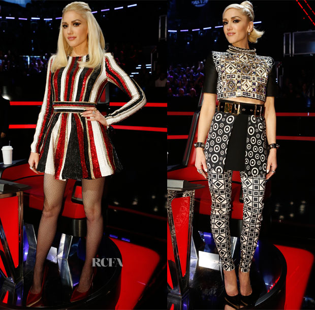 Gwen Stefani In Zuhair Murad & Fausto Puglisi - The Voice