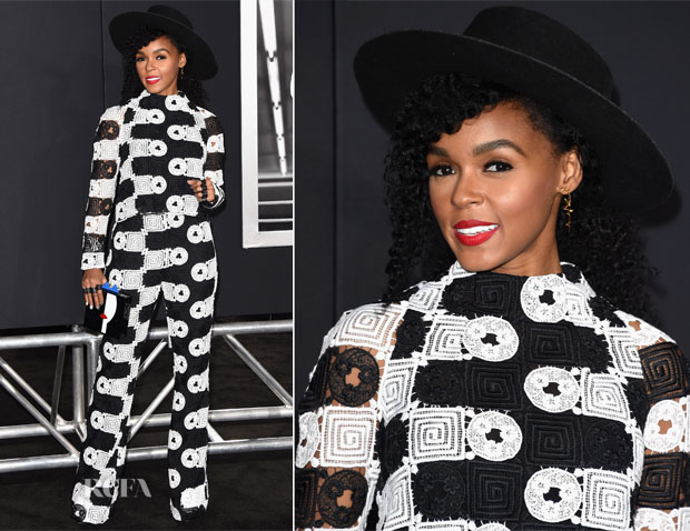 Janelle Monae In Manning Cartell - 'Creed' LA Premiere