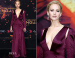 Jennifer Lawrence In Christian Dior Couture - 'The Hunger Games: Mockingjay - Part 2' Berlin Premiere