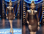 Jennifer Lopez In August Getty Atelier - American Idol