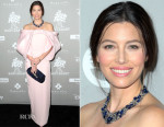 Jessica Biel In Monse -  2015 Baby2Baby Gala