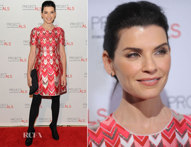 Julianna Margulies In Giambattista Valli - 17th Annual Project ALS New York City Gala