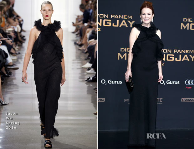 Julianne Moore In Jason Wu - 'The Hunger Games Mockingjay' Berlin Premiere