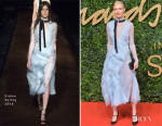 Kate Bosworth In Erdem - 2015 British Fashion Awards