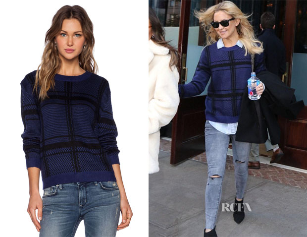 Kate Hudson Lovers + Friends Lawrence Sweater