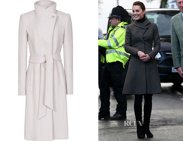 Kate Middleton's Reiss Miller Long Coat