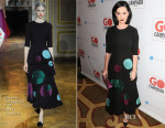 Katy Perry In Ulyana Sergeenko Couture - 8th Annual GO Campaign Gala