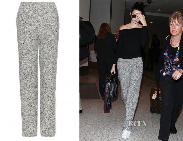 Kendall Jenner's Chloé Knitted Trousers