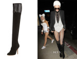 Kendall Jenner's Sophia Webster Adrianna Suede Over-the-Knee Boots