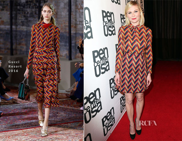 Kirsten Dunst In Gucci - PEN Center USA's 25th Annual