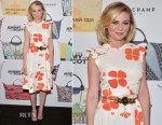 Kirsten Dunst In Rodarte - Jeremy Scott For Longchamp 10th Anniversary