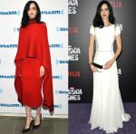 Krysten Ritter In Salvatore Ferragamo & Zuhair Murad - SiriusXM Studios & 'Jessica Jones' New York Series Premiere