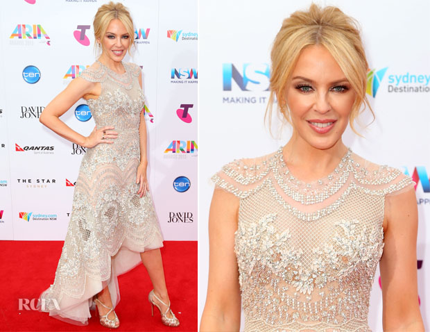 Kylie Minogue In J'Aton Couture – 2015 ARIA Awards