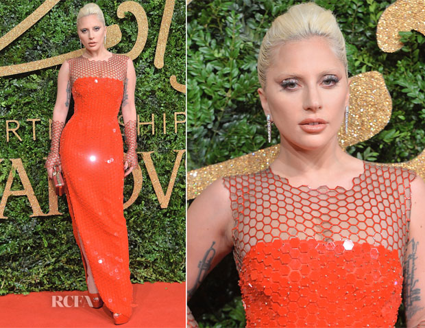Lady Gaga In Tom Ford - 2015 British Fashion Awards