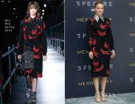 Lea Seydoux In Miu Miu - 'Spectre' Mexico City Photocall
