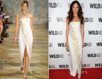 Maggie Q In Tory Burch - WildAid 2015