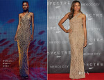 Naomie Harris In Balmain - 'Spectre' Mexico City Premiere