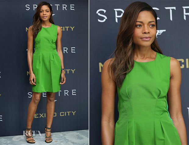 Naomie Harris In Lanvin -  'Spectre' Mexico City Photocall