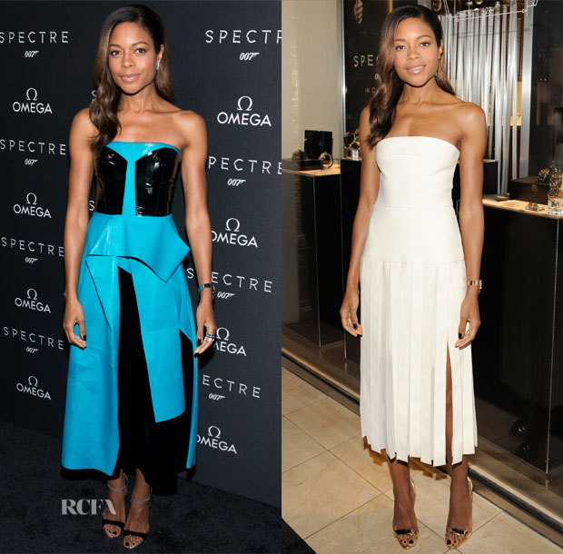 Naomie Harris In Roksanda & Dion Lee - OMEGA 'Spectre' New York Screening & Cocktail Event