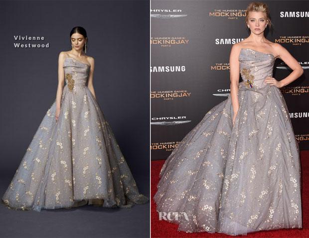 Natalie Dormer In Vivienne Westwood - 'The Hunger Games Mockingjay – Part 2' LA Premiere