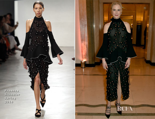 Nicole Kidman In Proenza Schouler - 2015 Harper's Bazaar Women of the Year Awards