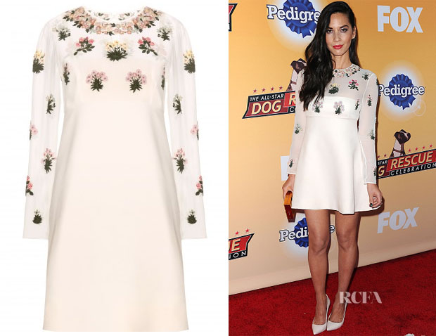 Olivia Munn's Valentino Embellished Dress