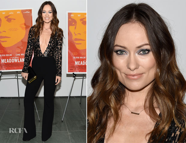 Olivia Wilde In Michael Kors Collection - Meadowland' New York Premiere