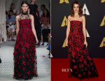 Rachel Weisz In Oscar de la Renta - Academy Of Motion Picture Arts And Sciences' 7th Annual Governors Awards